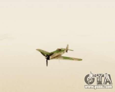 Focke-Wulf FW-190 D12 for GTA San Andreas back view