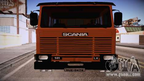 Scania LK 141 6x2 for GTA San Andreas left view