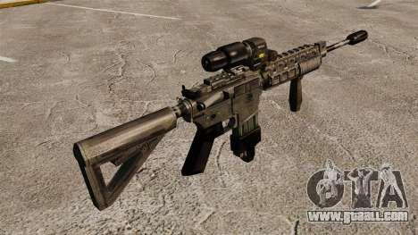 M4 Carbine Hybrid Scope for GTA 4 second screenshot