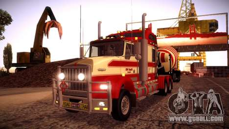 Kenworth RoadTrain T800 for GTA San Andreas