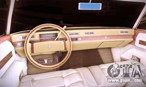 Cadillac Eldorado 1978 Coupe for GTA San Andreas side view