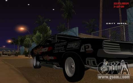 Challenger Missile for GTA San Andreas back left view