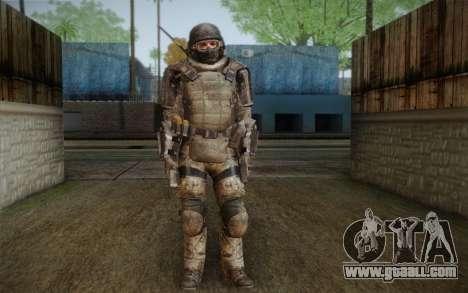 COD MW3 Heavy Commando for GTA San Andreas