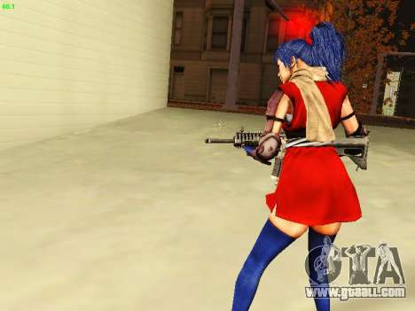 Juliet Starling for GTA San Andreas forth screenshot
