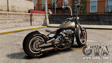 Harley-Davidson Knucklehead v2 for GTA 4 left view