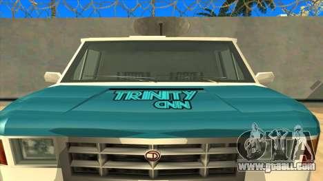 News Van HQ for GTA San Andreas right view