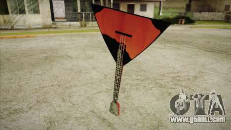 Balalaika for GTA San Andreas
