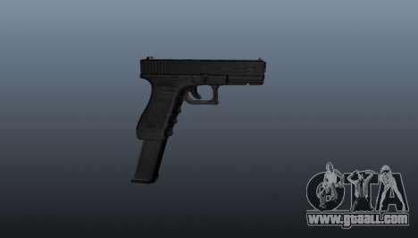 Glock 18 machine pistol for GTA 4 third screenshot