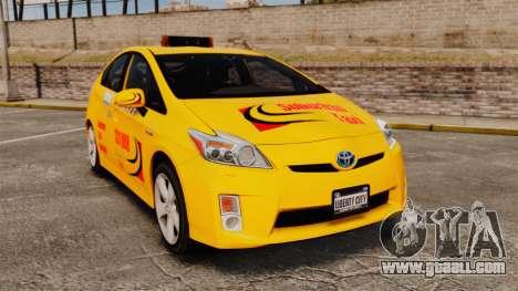 Toyota Prius 2011 Adelaide Taxi for GTA 4