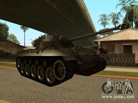 M18-Hellcat for GTA San Andreas left view