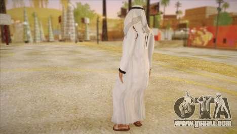 Arab Sheikh for GTA San Andreas second screenshot