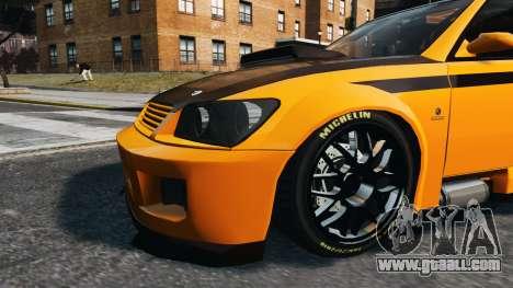 Sultan STI for GTA 4 back left view