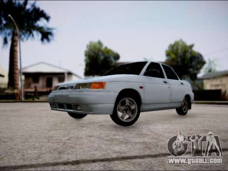 VAZ 2110 Restyling for GTA San Andreas left view
