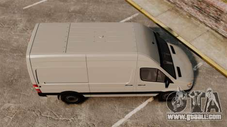 Mercedes-Benz Sprinter 2500 Delivery Van 2011 for GTA 4 right view