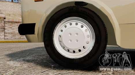 Zastava Yugo 128 for GTA 4 back view