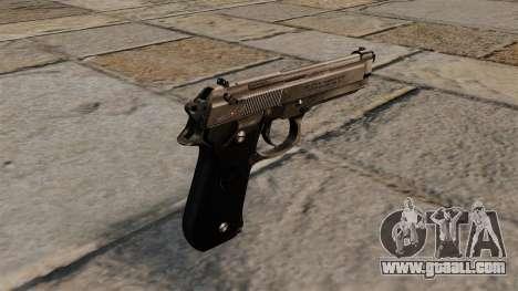 Beretta 92 semi-automatic pistol for GTA 4 second screenshot
