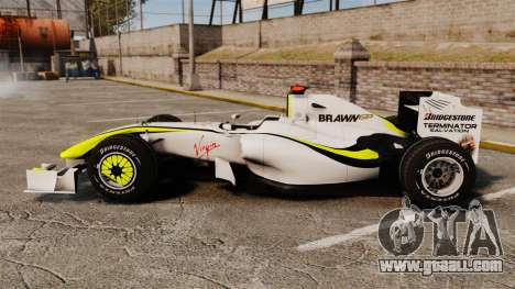 Brawn BGP 001 2009 for GTA 4 left view