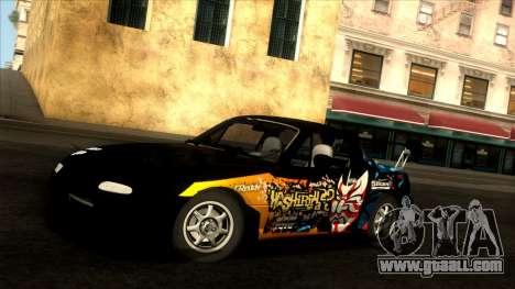 Mazda MX-5 Miata (NA) 1989 for GTA San Andreas