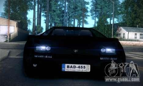 Lamborghini Diablo VT6.0 for GTA San Andreas upper view