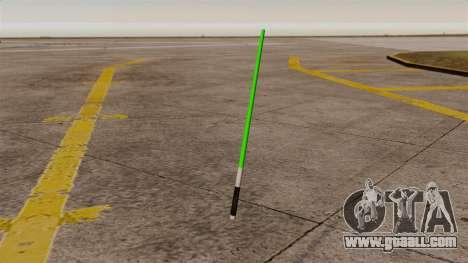 Green laser sword Star Wars for GTA 4