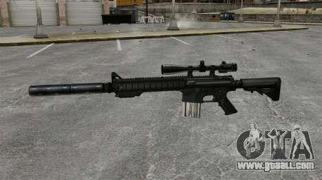 The SR-25 sniper rifle for GTA 4 third screenshot