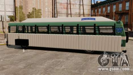 Armoured bus for GTA 4 right view