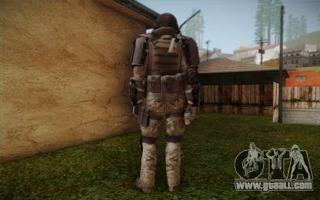 COD MW3 Heavy Commando for GTA San Andreas third screenshot