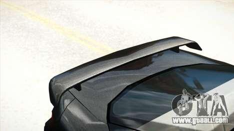 Mitsubishi GTO Twin Turbo 1992 for GTA 4 back view
