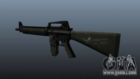 The M16A4 assault rifle for GTA 4 second screenshot
