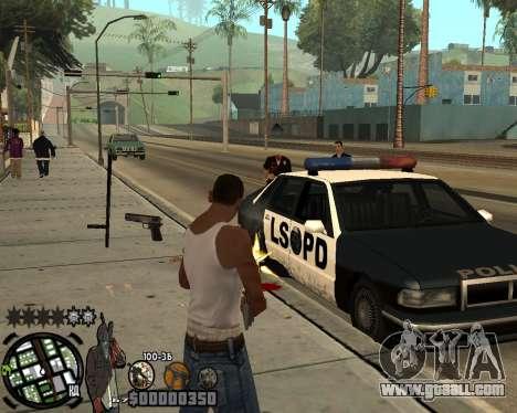 C-HUD Ghetto for GTA San Andreas third screenshot