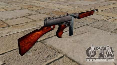M1a1 Thompson submachine gun for GTA 4 second screenshot