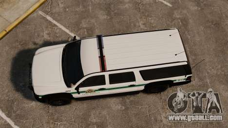 GTA V Declasse Granger Park Ranger for GTA 4 right view