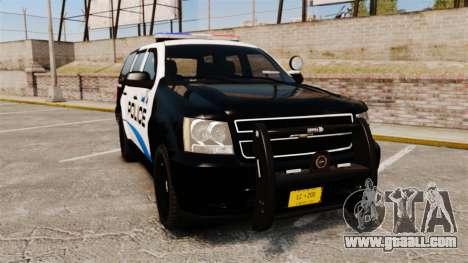 Chevrolet Tahoe Police [ELS] for GTA 4