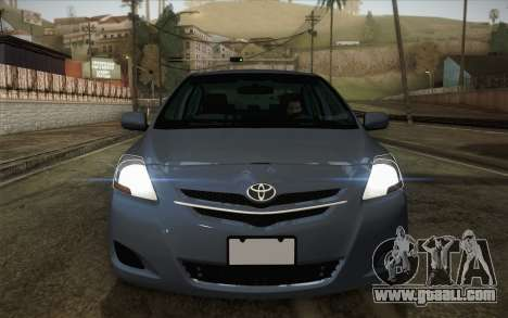 Toyota Vios 2008 for GTA San Andreas right view