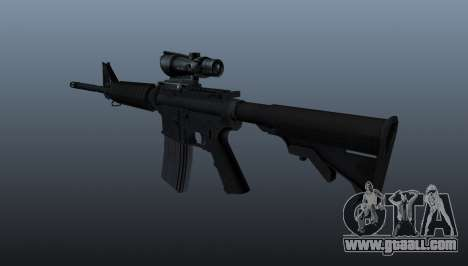 Automatic M4 carbine for GTA 4 second screenshot