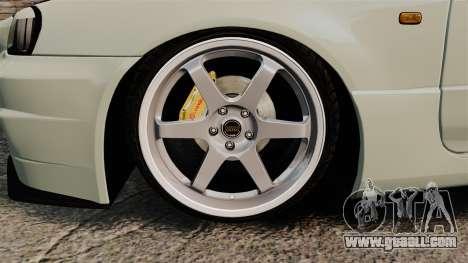 Nissan Skyline GT-R V-Spec II Mk.X [R34] for GTA 4 back view