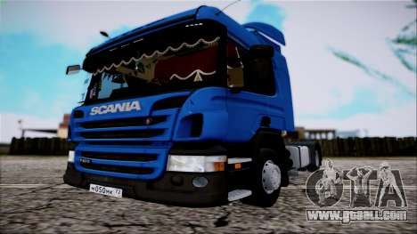 Scania P400 for GTA San Andreas right view