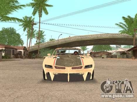 AMC Javelin AMX for GTA San Andreas back view