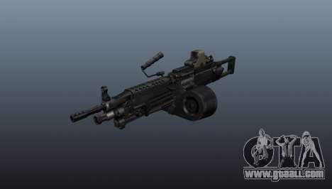 The M249 light machine gun for GTA 4