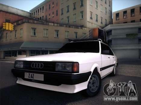 Audi 80 B2 v2.0 for GTA San Andreas upper view
