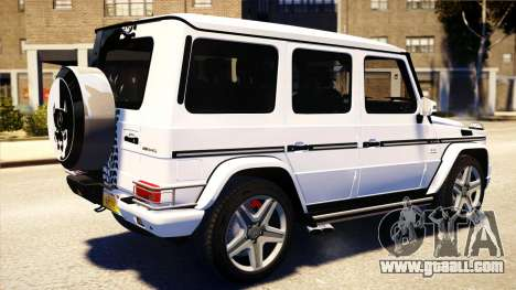 Mercedes-Benz G65 AMG 2013 for GTA 4 left view