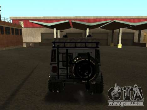 Hummer H1 Offroad for GTA San Andreas right view