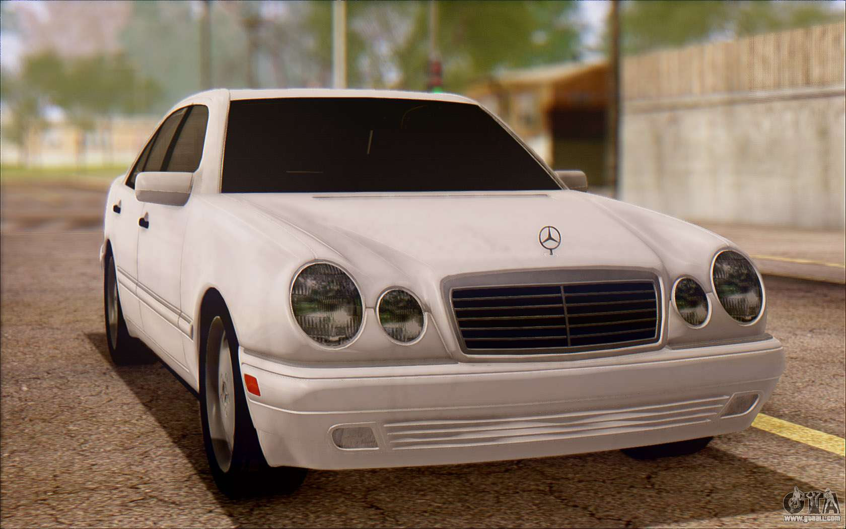 mercedes benz e420 v2 0 for gta san andreas. Black Bedroom Furniture Sets. Home Design Ideas