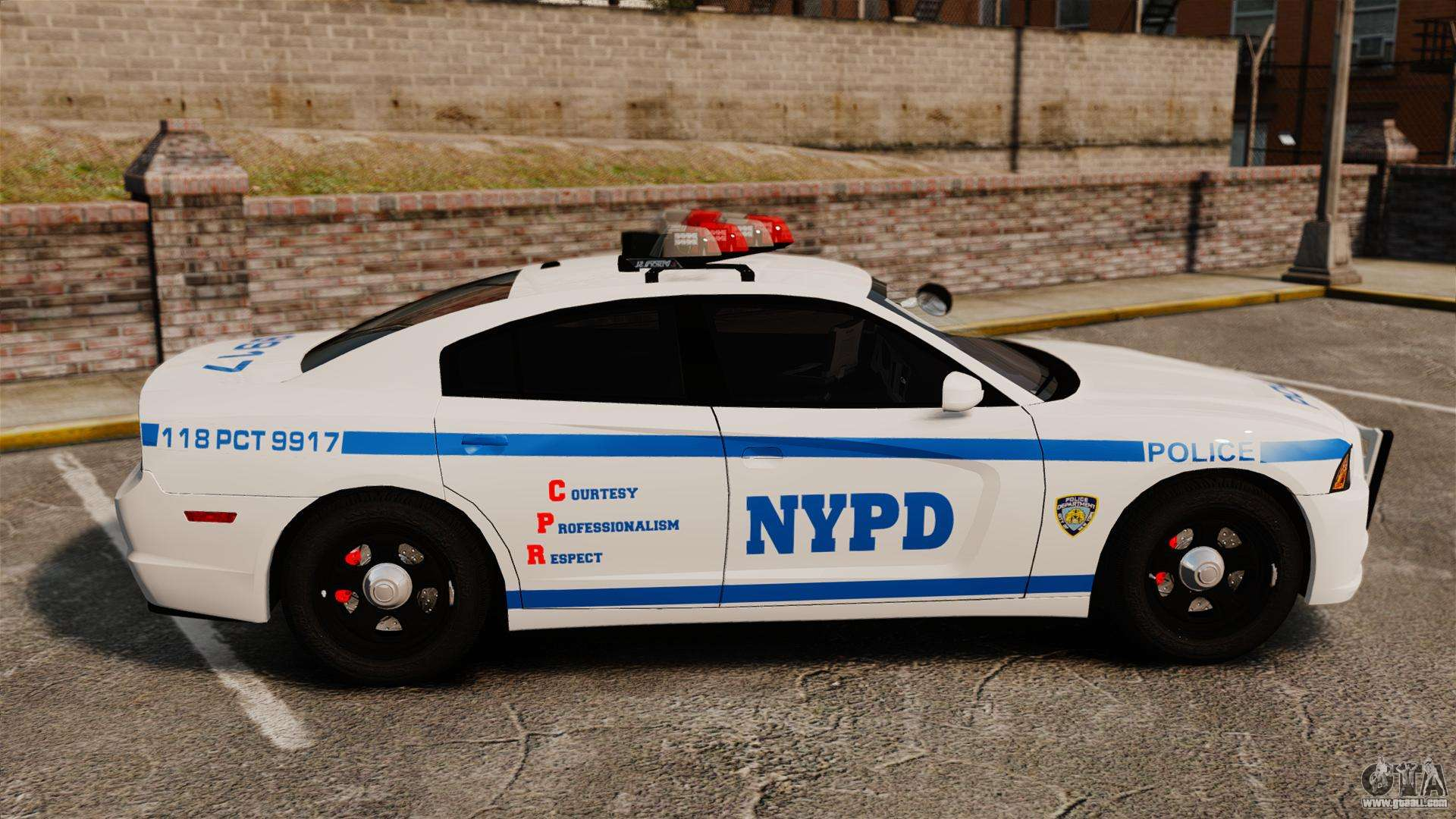 Dodge Charger 2012 Nypd Els For Gta 4