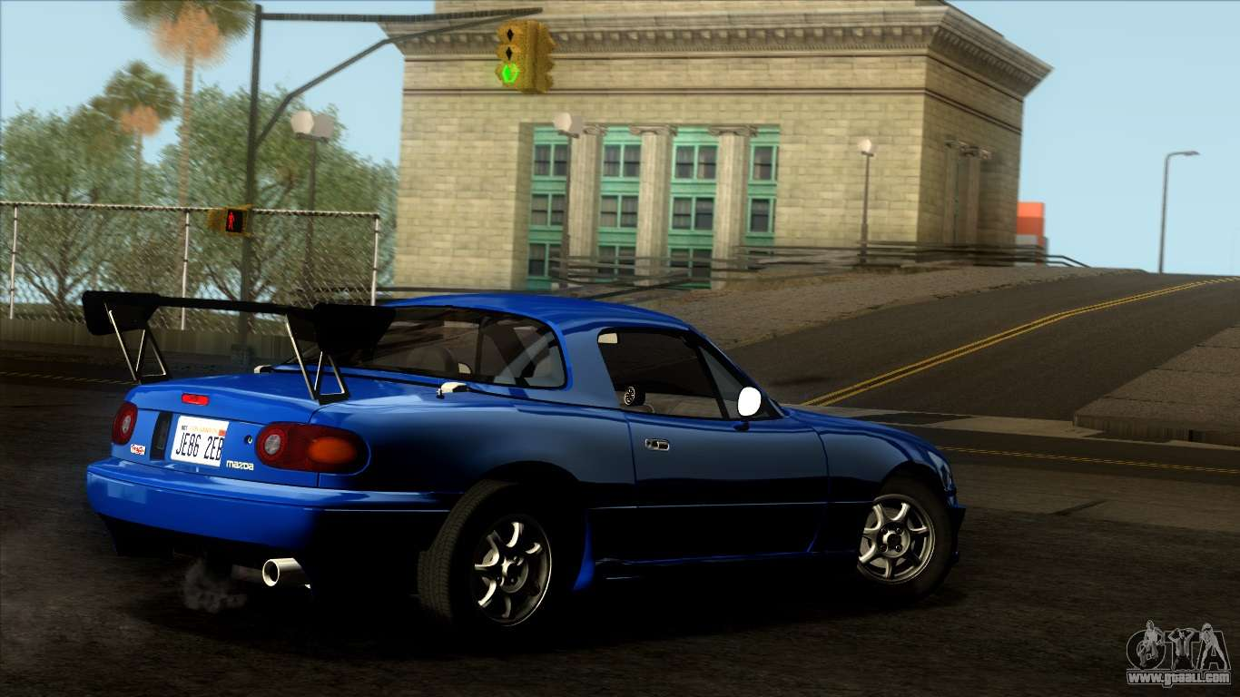 mazda mx 5 miata na 1989 for gta san andreas. Black Bedroom Furniture Sets. Home Design Ideas