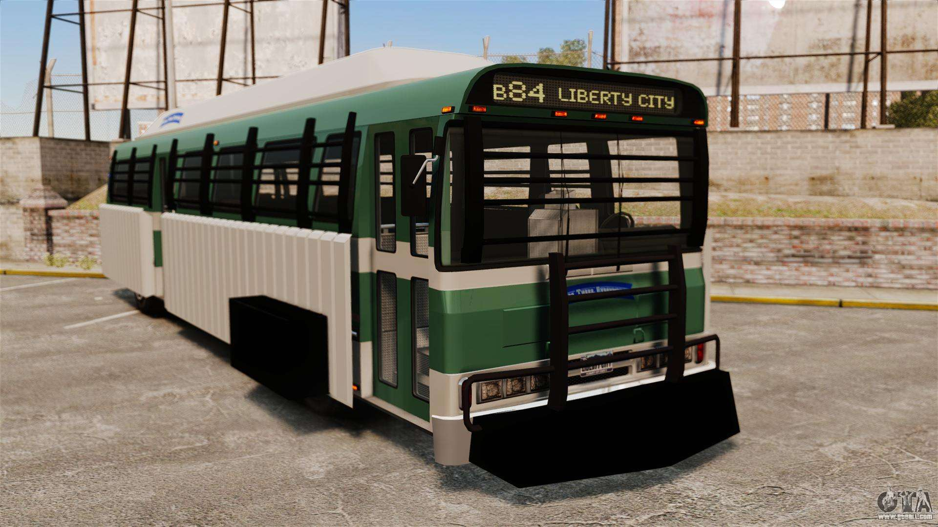 Armoured bus for GTA 4