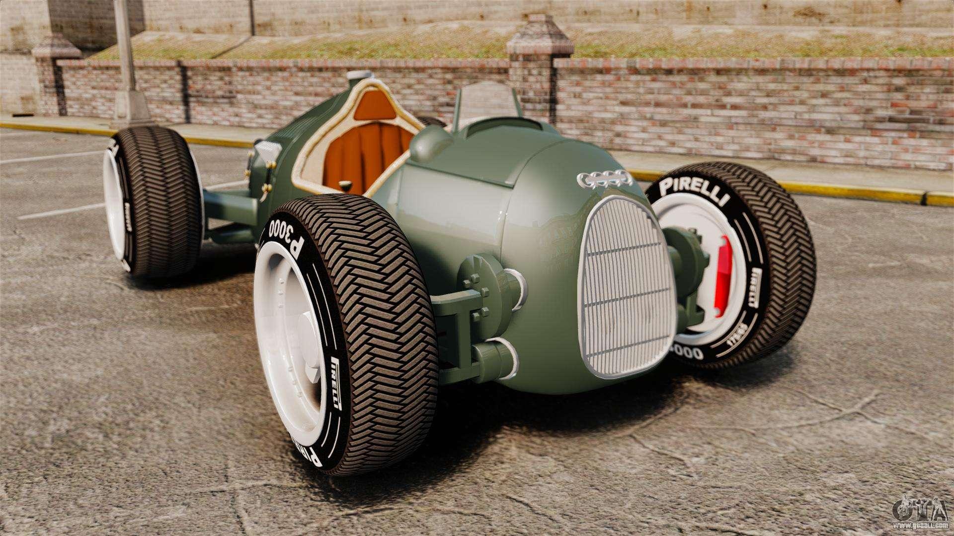 Auto Union Type C 1936 For Gta 4