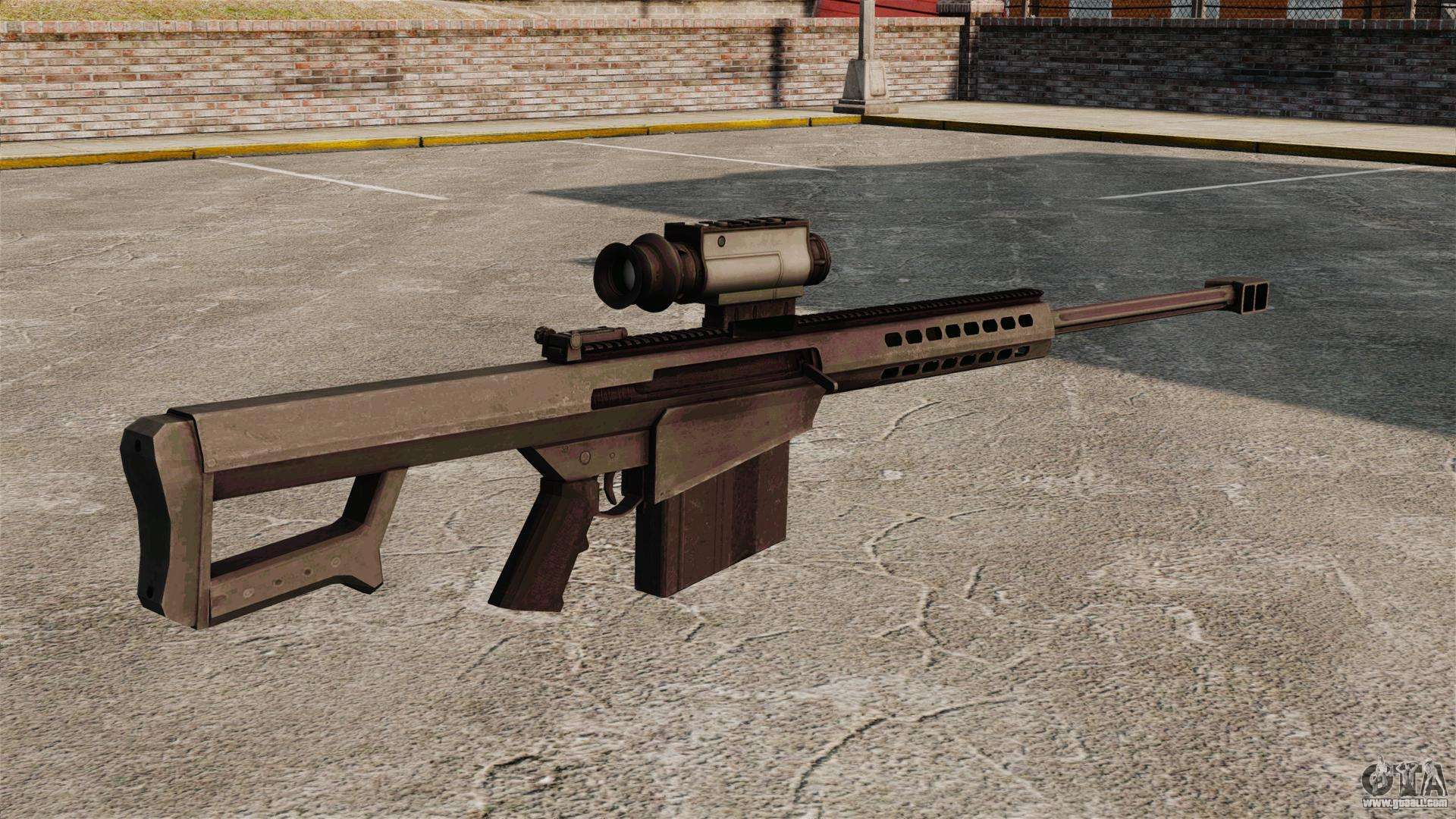 m107 sniper rifle - photo #9