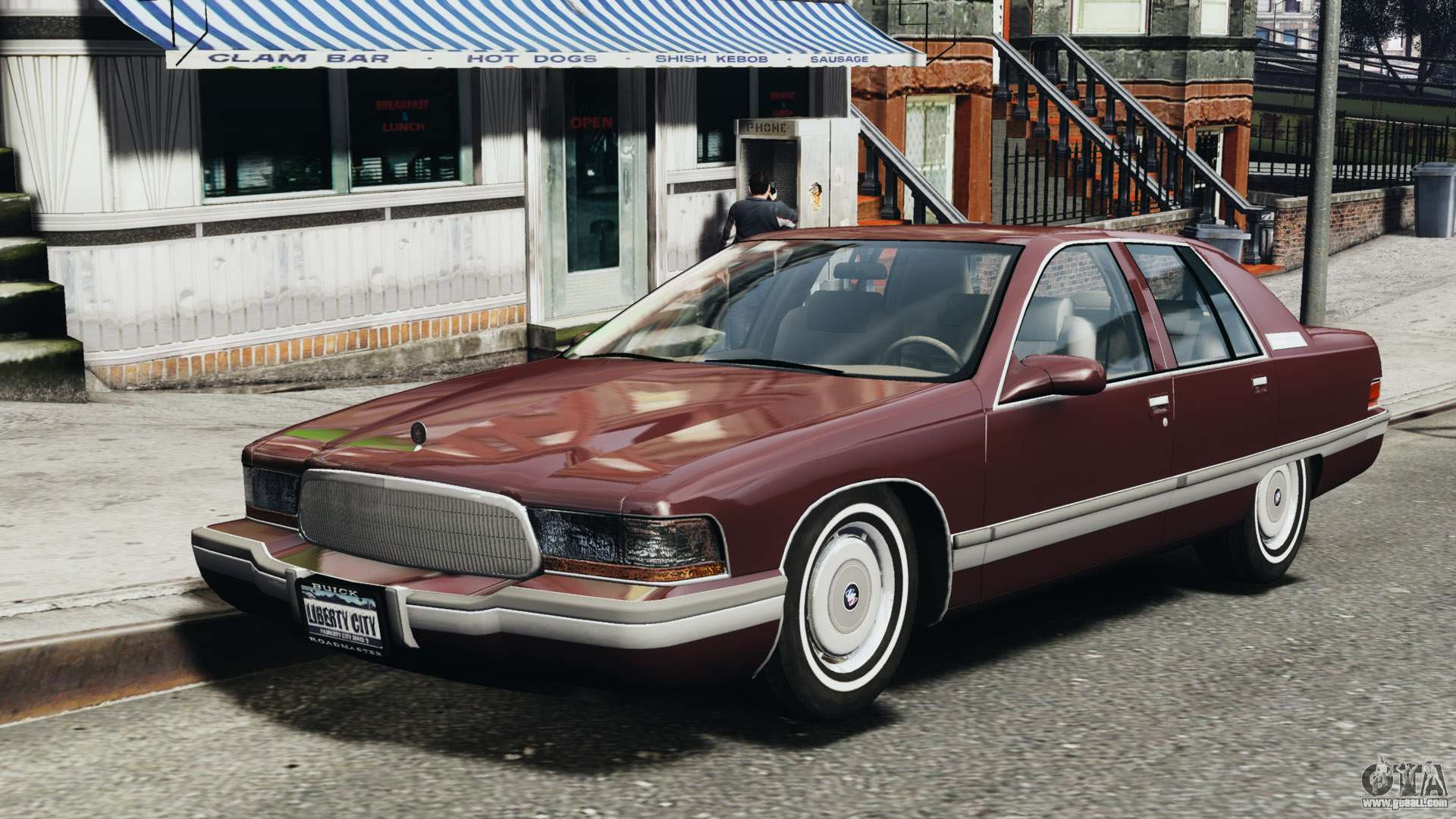 1992 Buick Roadmaster >> Buick Roadmaster 1996 for GTA 4
