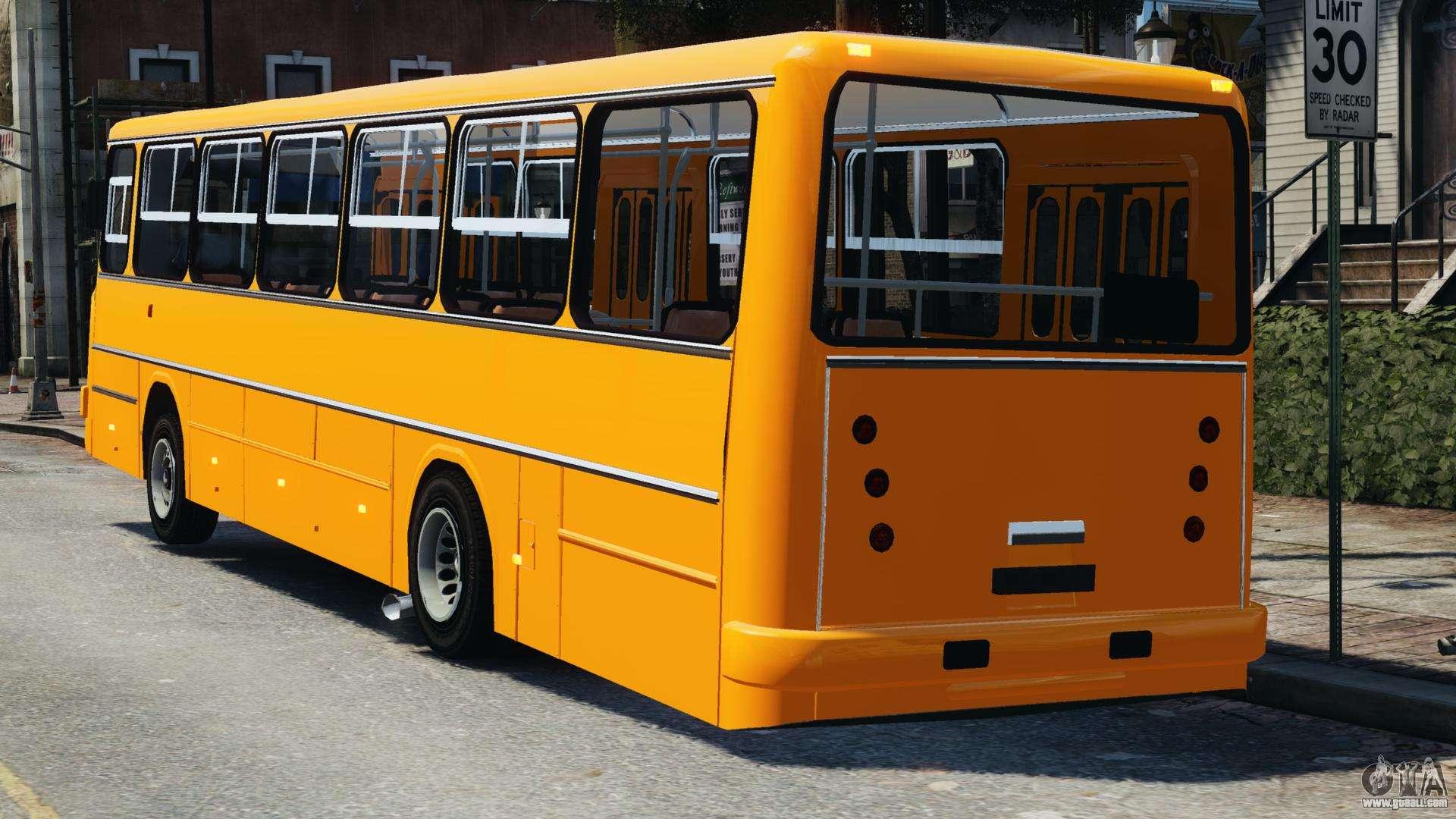 Ikarus 260 for gta 4 for Ikarus